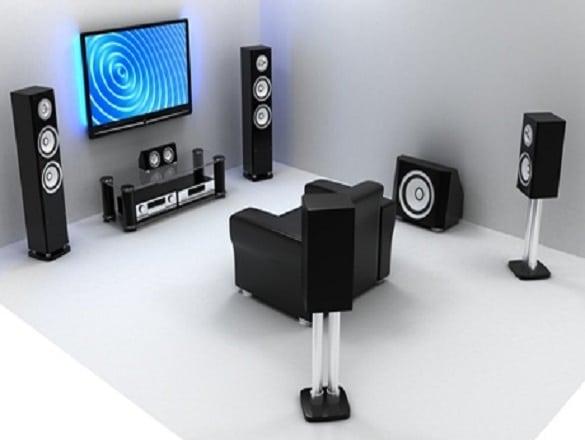 Teatros en casa Sonido envolvente para tus películas 3D